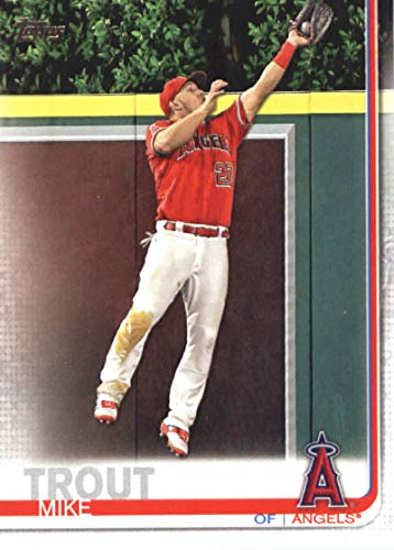 2019 Topps Baseball #100 Mike Trout Los Angeles - Free Trout