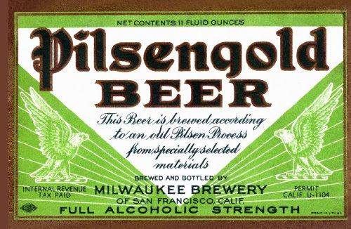 ArtsyCanvas Pilsengold Beer 48
