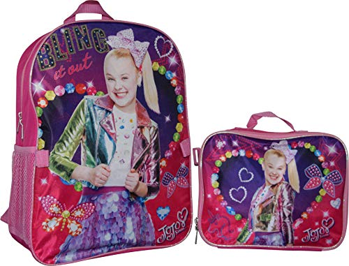 jojo siwa backpack and lunchbox