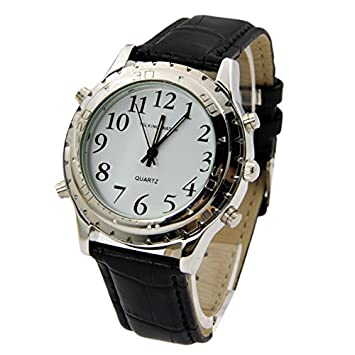 foundation watches talking alarms shop and clocks category clock blind low vision calendar