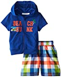 Wippette Boy's Beach Hunk Coverup Set, Blue, 2T