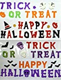 Halloween Gel Clings, 4 Sheets