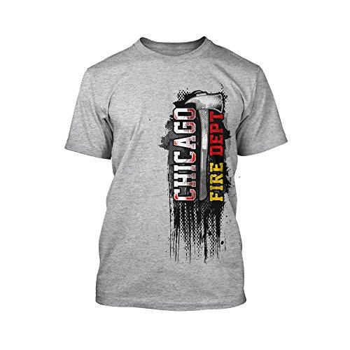 Chicago Fire Dept. - Design T-Shirt in grau