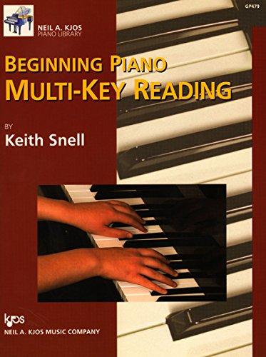 GP479 - Beginning Piano Multi-Key Reading - - Keys Reading