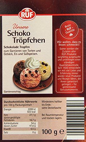 Backmischungen Feinschmecker 1kg Schokotropfen Zartbitter Chokolate Chips Für Cookies Muffins 1000g