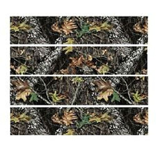 EDIBLE CAKE IMAGE-MOSSY OAK (CAMO)CAMOUFLAGE/HUNTING-4 BANNERS FOR SIDES OF CAKE