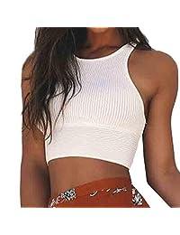 Tank Tops For Women, Susenstone Sexy Vest Camisole Cotton Sleeveless Midriff Top