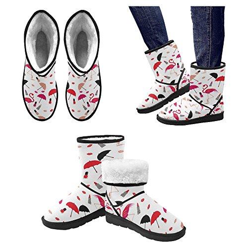 Snow Stivali Da Donna Di Interestprint Stivali Invernali Comfort Dal Design Unico Multi 1