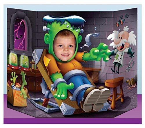 Beistle Frankenstein Photo Prop, 3-Feet 1-Inch by 25-Inch ()