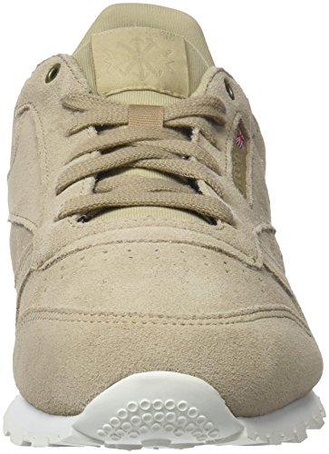 Reebok Leather Sneakers duck Mcc Classic Season Mixte chalk Enfant Marron Basses rrPqOxn