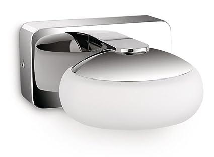 Philips applique murale led silk eclairage salle de bain métal