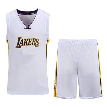 LAFE NBA Baloncesto Uniformes Kids Boy Men Lakers Kobe Bryant ...