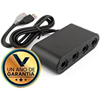 Adaptador Nintendo Switch / WiiU / PC para 4 Controles Nintendo GameCube
