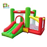 YARD Bounce House with Slide Indoor Inflatable Jump Castle for Kids with Blower ( 11.5'x 9.8'x 8.9') (.6210)