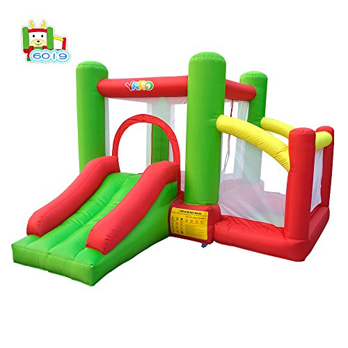 YARD Inflatable Bounce House with Ball Pit Combo Include Blower 11.48'x 9.8'x 6.89'