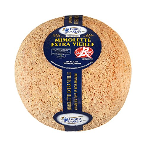 French Cheese Mimolette Extra Vieille, 18 Months - 6.2 Lbs by Isigny