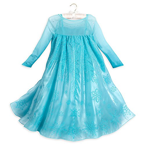 disney frozen elsa costume for girls blue funtober. Black Bedroom Furniture Sets. Home Design Ideas