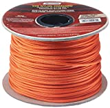 WELLINGTON CORDAGE NPC5503240T Paracord, Orange, 5/32'' x 400'
