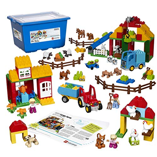 Large Farm Set for Role Playing and Categorizing by LEGO Education DUPLO