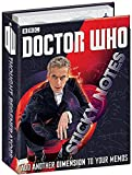 12th Doctor Who Sticky Notes Booklet