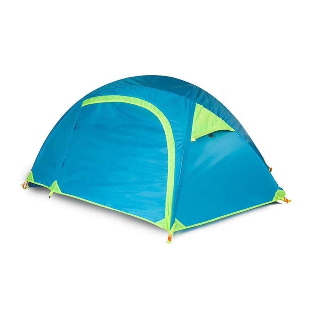 Tende CS-LJ Tenda da Campeggio Singola da Pesca Tende da Campeggio Doppia da Ultraleggero Antipioggia Leggera Antivento Traspirante Anti-zanzara Tenda da Esterno
