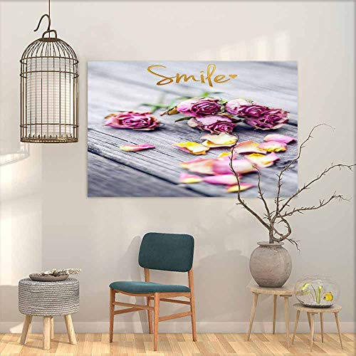 - DuckBaby Art Oil Paintings Closeup of Wedding Bouquet Flowers with Unity Candles. for Living Room Bedroom Hallway Office W20 xL16