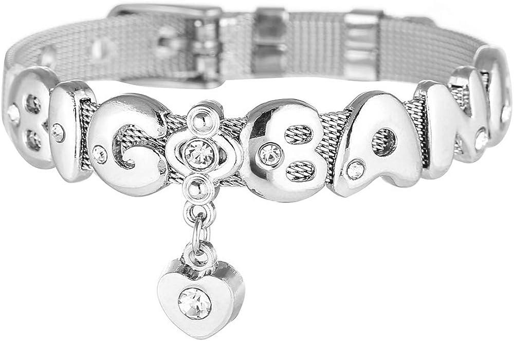 V Jimin Jin,Bracelet Best Gift for The Army FishUS Unisex BTS Merch Member Bracelet Bangtan Boys 방탄소년단Army Kpop Stainless Steel Bracelet Jungkook Suga