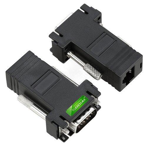 39 opinioni per SODIAL(TM) 2 adattatore cavo prolunga VGA a CAT5/CAT6/RJ45