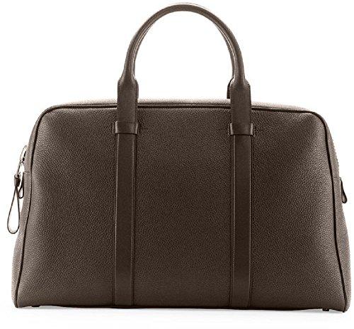 Tom Ford Men's Buckley Gray Duffel Bag