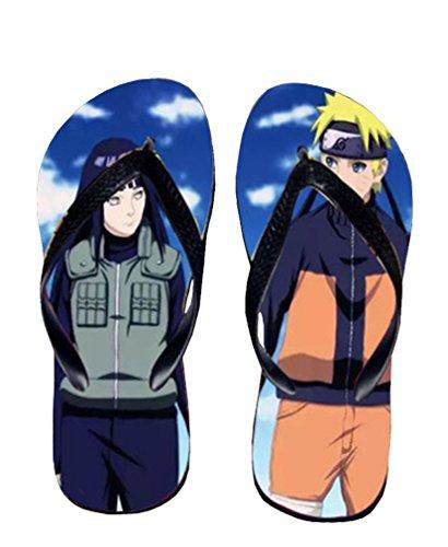 Bromeo Naruto Anime Unisex Flip Flops Chanclas 327