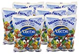 hard candies fruit flavored - Arcor Kosher Assorted Fruit Flavored Hard Candy with Chewy Centers 6 Lb