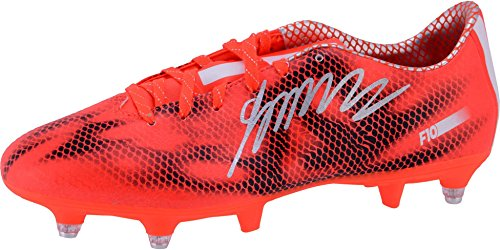 James Rodriguez Real Madrid Autographed Orange Adidas Soccer Cleats - Fanatics Authentic Certified - Autographed Soccer Cleats (James Rodriguez Shoes Soccer)