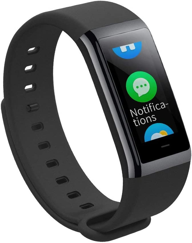 Amazfit Pace - Smartwatch con GPS Multideporte 1.34'' Táctil, GPS y Bluetooth, Monitor de Ritmo Cardíaco, Reproduce música sin Móvil, (Versión Internacional) iOS y Android (Rojo)