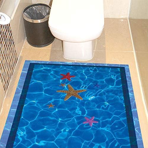 Daadi 3D Wall-Art baño baño Suelos de baldosas y Paredes Decoradas ...