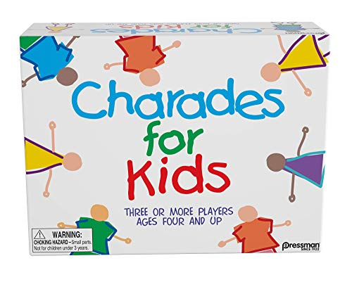 Charades for Kids is a fun indoor active game for kids