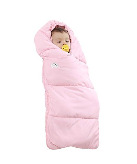BabyFat Sacos de Dormir para Bebé Otoño/Invierno 2.5 Tog Rosa Label M(0