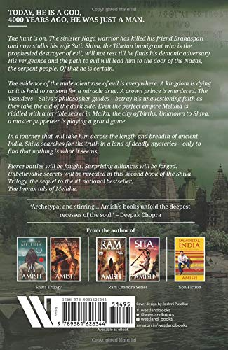Buy The Secret Of The Nagas (Shiva Trilogy-2) Book Online at