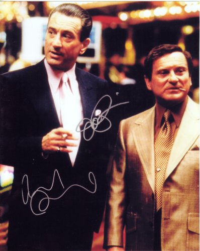 Robert Deniro & Joe Pesci in Casino Autographed Signed 8 X 10 Reprint Photo - Mint Condition from Nostalgic Cards & Autographs