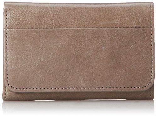 HOBO Vintage Jill Tri-Fold Wallet,Stone,One Size