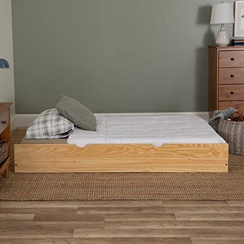 Twin Solid Wood Trundle Bed