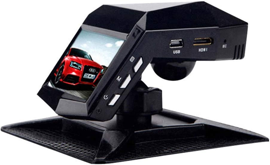 Dashboard Camera Full HD 1080P On-Dash Car Video Recorder 2 Inches Car DVR Mini Camera Dual Lens