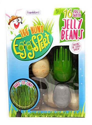 Egg Hunt Eggs-Pert - 16 Eggs with Jelly Beans