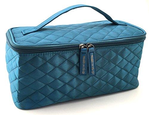 Models-on-the-Go Satin Cosmetic Bag (Satin Makeup Bag)