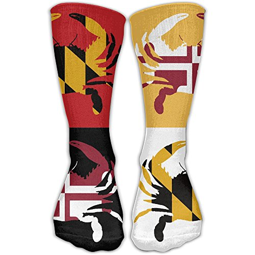 Maryland Blue Crab Art Design Causal Socks Crew Socks Elite Socks Crazy Socks 11.2