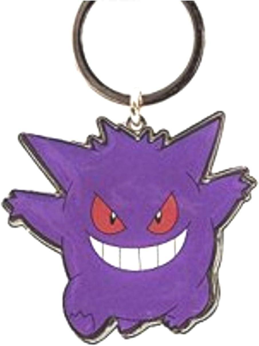 Gengar Key Chain DOUBLE SIDED Bookbag Charm Pokemon Jacket Zipper Pull