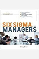 Six Sigma for Managers [A Briefcase Book] Paperback