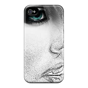 Fashion Protective The Woman Sketch Cases Covers For Iphone 6