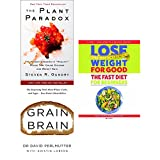 img - for plant paradox [hardcover], grain brain and lose weight for good fast diet for beginners 3 books collection set - the hidden dangers in