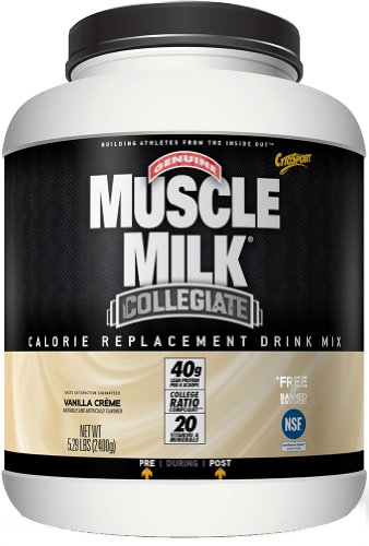 Cytosport Muscle Milk Collegiate Vanilla-5.29 Powder - Cytosport Muscle Milk Powder Vanilla Creme