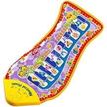 Bhbuy Hot Sales Baby Piano Game Educational Music Toy Fish Shape Blanket Mat Pad Toys